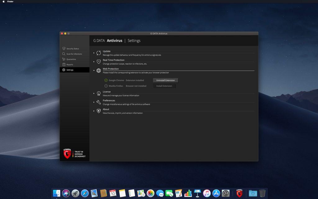 G_DATA_Antivirus_Mac_Screenshot_Web_Protection