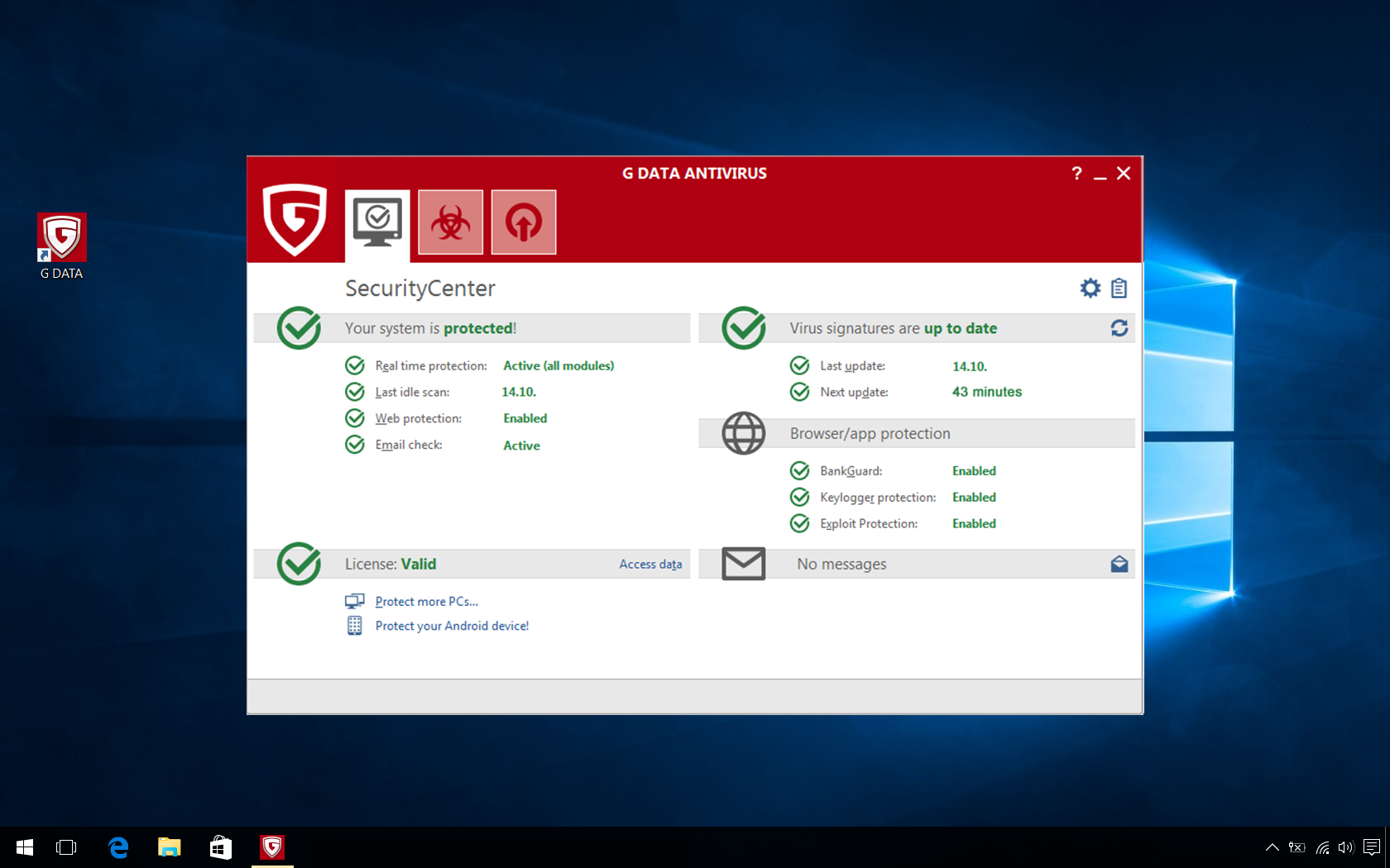 G_DATA_Antivirus_Screenshot_SecurityCenter_EN