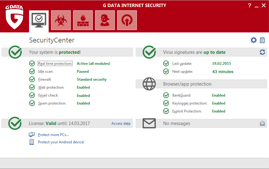 G_DATA_Screenshot_Internet_Security_Security_Center